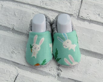 Bunny Rabbit baby booties, sizes up to 24 months available!