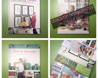 Martha Stewart Living Books by Oxmoor House