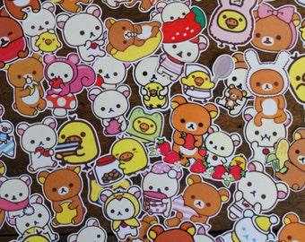 63 Rilakkuma Stickers