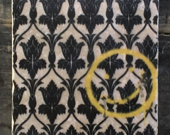 Sherlock Wallpaper Smile Coaster or Decor Accent