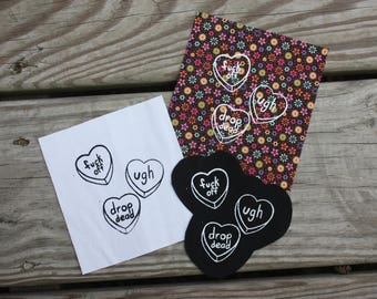 Candy Hearts Patch