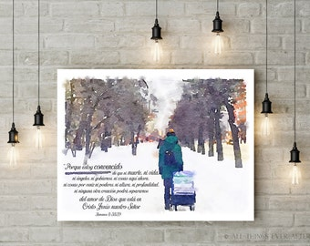Spanish   Jw   Life of a PIONEER   Romanos 8:38,39    JW   Jehovah   Encouragement   SKE   Digital Print   Gift   00105