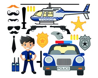 Police Printable Etsy