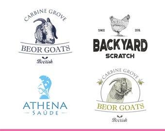 Logo Design, Vintage Logo, Business Card & Letterhead Design, Logo Design Package, Business Card, Letterhead, Business Logo, Company logo