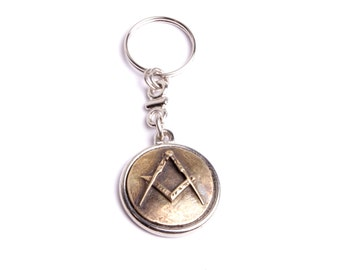Gate Masonic key medal freemasons square and compass is the workshop hand collection by fashion France