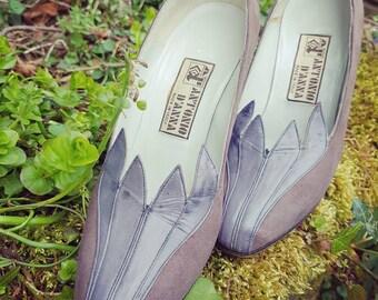 Vintage shoes uk size 2 EU 35 Vintage heels