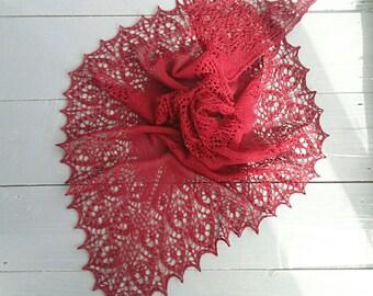 Shawl for wedding, knitted shawl, bridal shawl, collar, knitting shawl, wraps, knit shawl, knitting fichu, hand knit shawl, wool shawl
