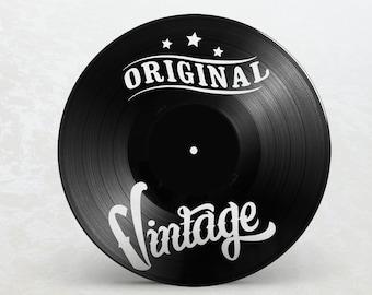 Vinyl 33T frame / / Original Vintage