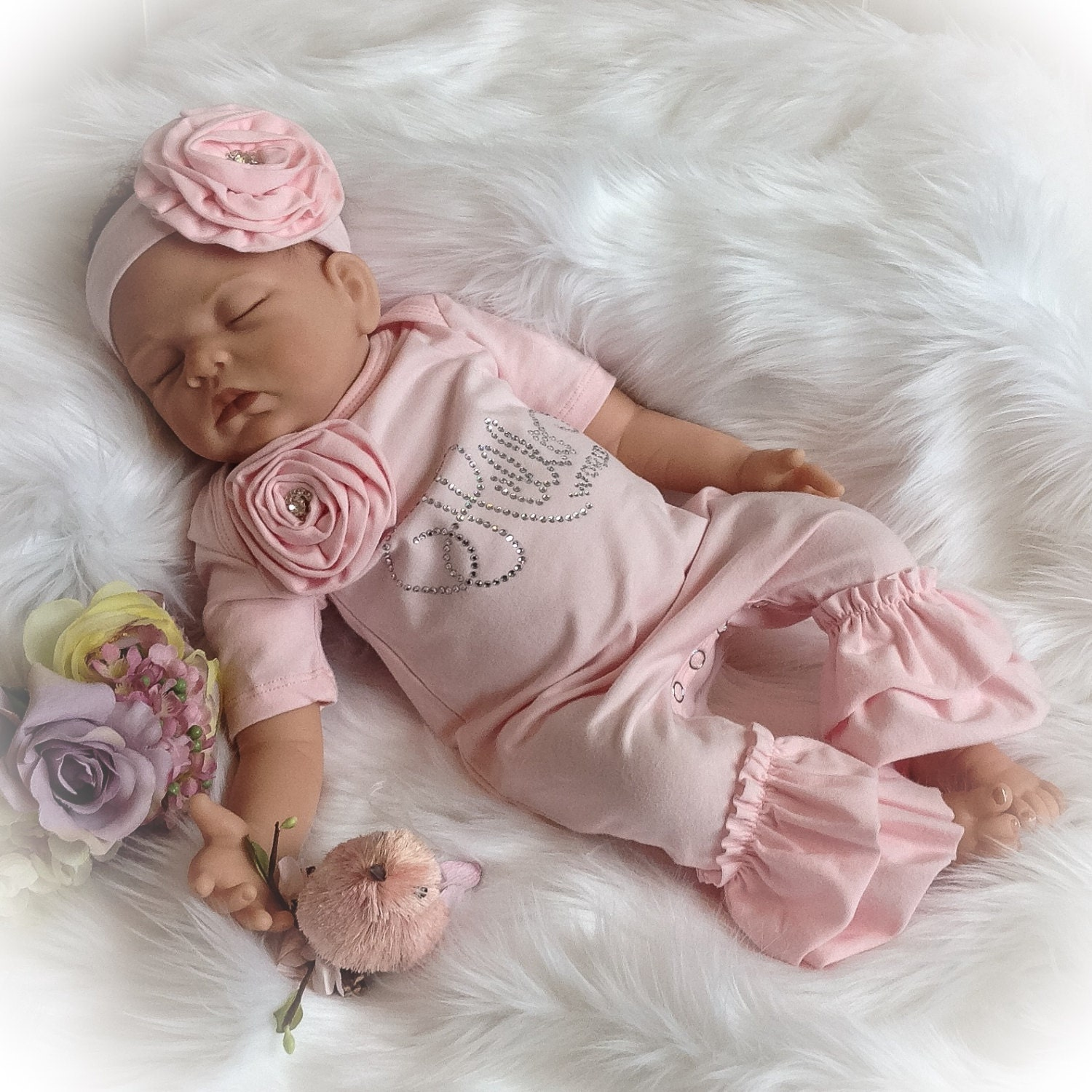 25d5c6865 Cute Newborn Baby Girl Coming Home Outfits