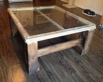 Repurposed Coffee Table - free shipping to Tampa Bay and Sarasota area.