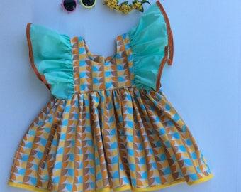 Retro girls 5T dress