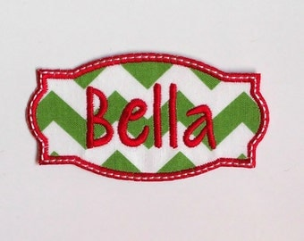 "Shop ""Personalized Christmas Stocking"" in Craft Supplies & Tools"