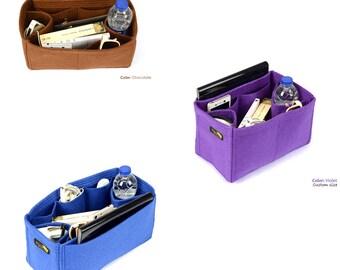 Custom Size Bag and Purse Organizer, Felt Purse Organizer, bag insert (Express Shipping)
