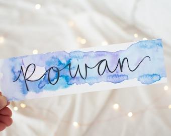 Rowan Bookmark