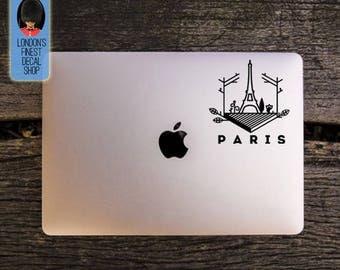 City of Paris Eifel Tower Macbook / Laptop Vinyl Decal