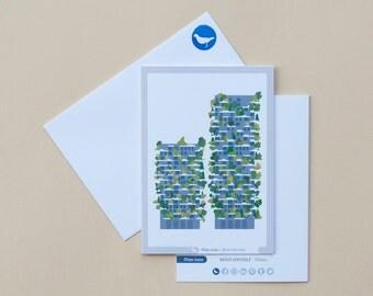 Milan Icons Greeting Cards-Vertical Forest-Milan