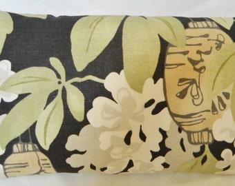 Samsara-Nori by Romo Fabric From UK - Decorative Lumbar pillow Cover / Linen / 12x 20