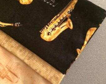 Saxophone pillowcase