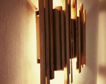 Wood Sconce chandelier