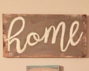 Home wall art family decor distressed saying living room made to order custom love handmade handcrafted recycled wood