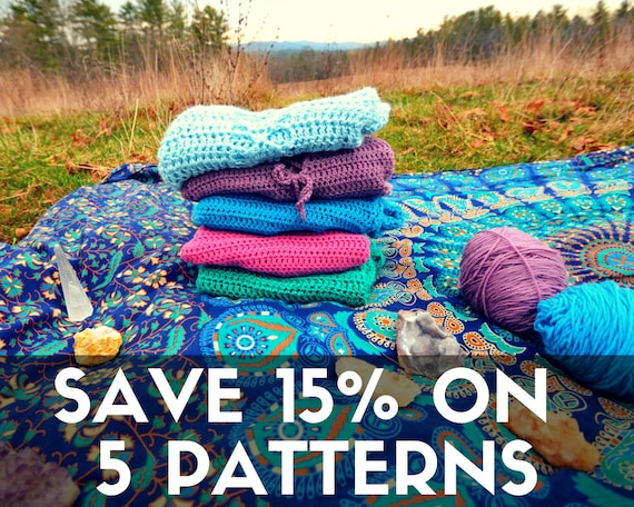 5 pattern discount - mermaidcat designs