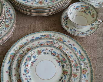 "Paragon English Bone China ""Jacobean"" Pattern."