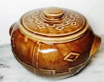 USA Monmouth Bean Pot Ceramic Cookie Jar