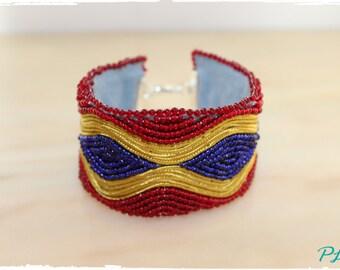 Embrodery bracelet