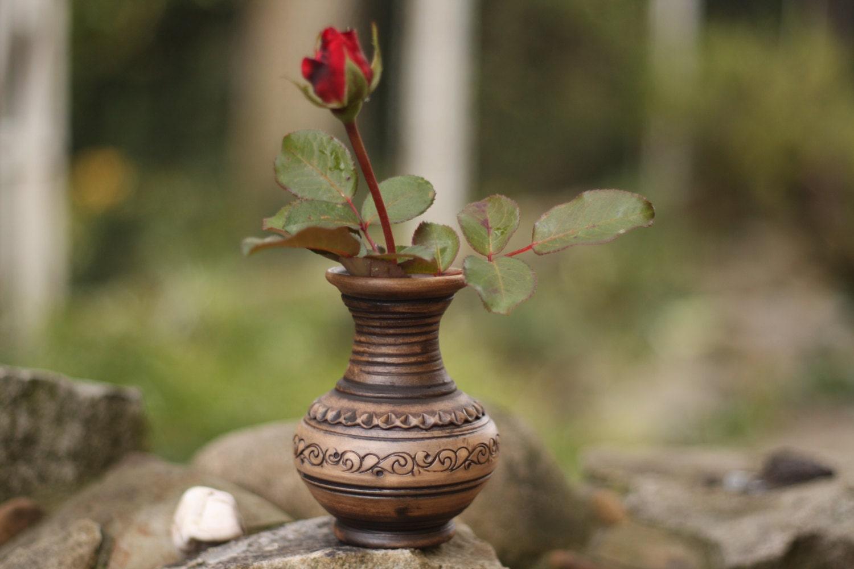 Ceramic Vase Flower Vase Rustic Vase Pottery Vase Handmade