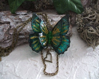 Green/Gold fairy wings