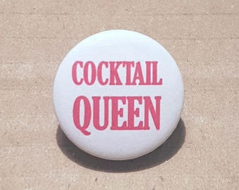 Bachelorette Button, Hen Party Badges, Hen Night Badges, Cocktail Queen, Bride Badge, Bachelorette Favors, Hen Party Favours, Alcohol Badges