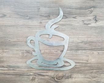 Coffee Mug (Home Decor, Wall Art, Metal Art)