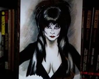 Limited edition Elvira art print