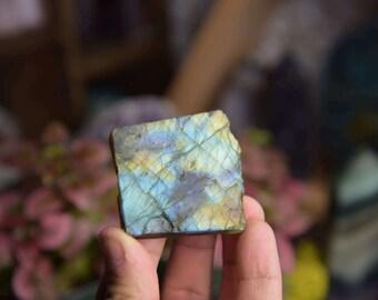 Mystical Labradorite slab
