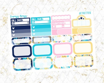 Jetsetter Assorted Boxes | 21 Stickers