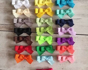 Baby Hair Clips, Baby Hair Bow, No-Slip Baby Hair Bows, Baby Hair Bows, Toddler Hair Clip, Baby Barrettes, Newborn Bows, Toddler Hair Bow