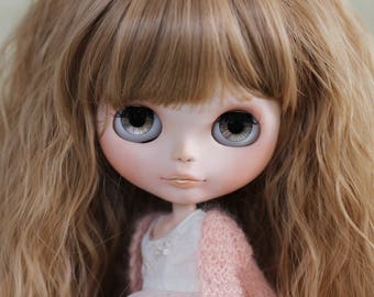 SOLD to Tani - OOAK Blythe - Peach - Custom Blythe doll (June payment)
