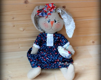 Bunny girl Rag Doll 15 inches