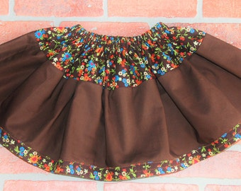 Girls Skirts- Size 4/5 Toddler Full Skirt