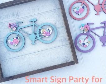 Smart Sign Party for Angie P. & Ashely P.