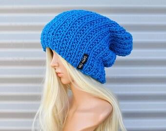 Beanie, Slouchy Beanie, Slouch hat, Womens Beanies, Knit hat, Slouch beanie, wool hat, slouchy hat, Green beanie,wool beanie, 12 colourways