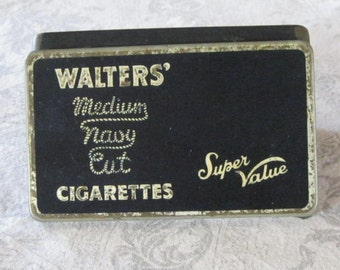 Cigarette Tin   Walters of England