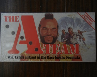 The A Team ~ Parker Brothers ~ 1984 ~ Sealed