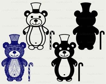 Teddy bear svg,teddy bear clipart,teddy svg,teddy bear silhouette,teddy cricut cut files,teddy clip art,digital download designs,svg,dxf