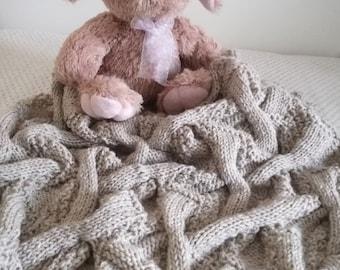 Ninee-crazy twisted baby blanket