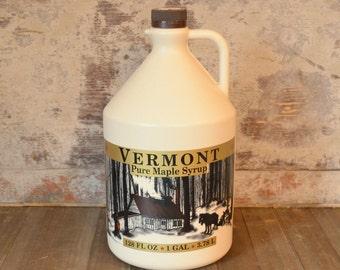 Vermont Maple Syrup, Gallon, Dark Robust