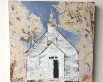 Abstract Art, Neutral Art, Church Painting, Landscape Art