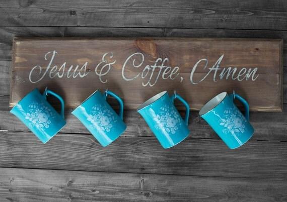 Kitchen Decor Coffee Mug Shelf Rack Kitchen Organizer Cup Holder