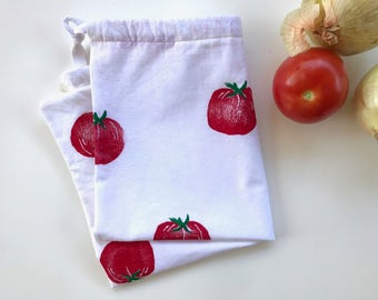 Reusable Produce Bag - Tomato