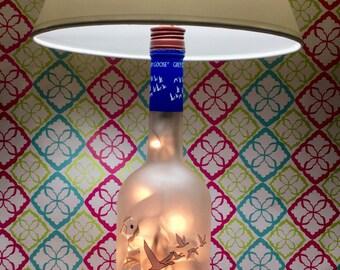 Grey Goose Lamp